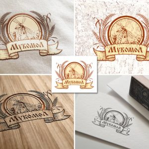 """Логотип для товаров """"Мукомол"""""""